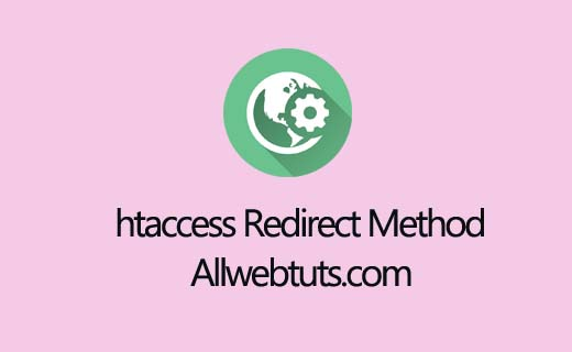 htaccess Redirect Method