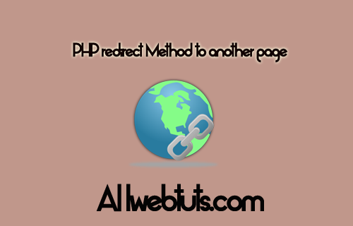 PHP redirect Method