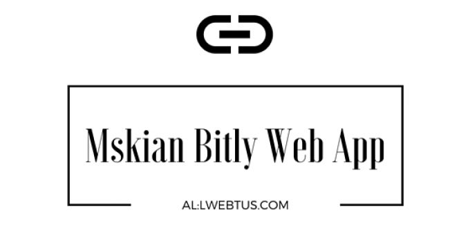 Bitly web app
