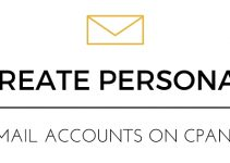 Personal Email Accounts on cPanel