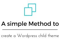 create a Wordpress child theme