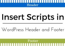 WordPress Header and Footer