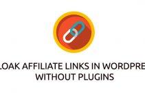 cloak affiliate links in Wordpress