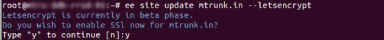 install Letsencrypt Free SSL Certificate on EasyEngine