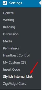 Stylish Internal Links WordPress plugin