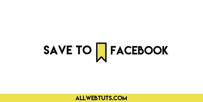 Add a Facebook Save Button in WordPress posts