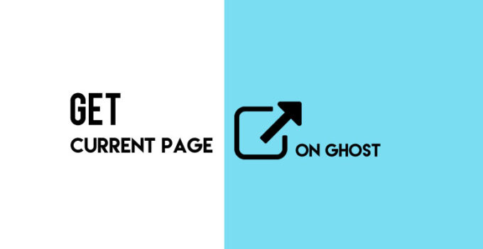 Get the Current Page URL on Ghost Blogging Platform